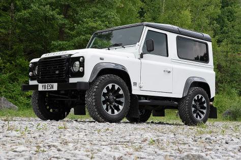 Land Rover Defender V8 2018 Works V8 Motor Preis Test