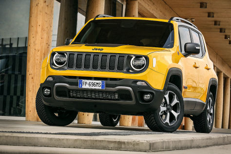 jeep renegade facelift 2018 preis technische daten