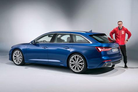 Audi A6 Avant C8 2018 Preis Test Kombi Motor Autobild De