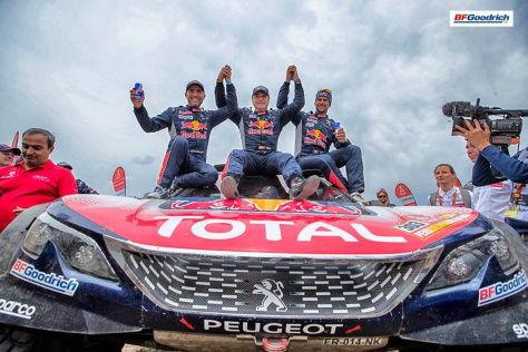 Rallye Dakar: Michelin holt beste Pkw-, Lkw- und Motorrad-Wertung