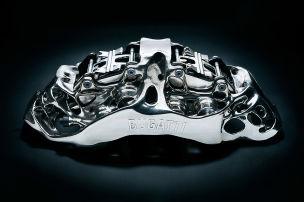 Bugatti Bremssattel (2018): Technik, 3D-Druck, Titan