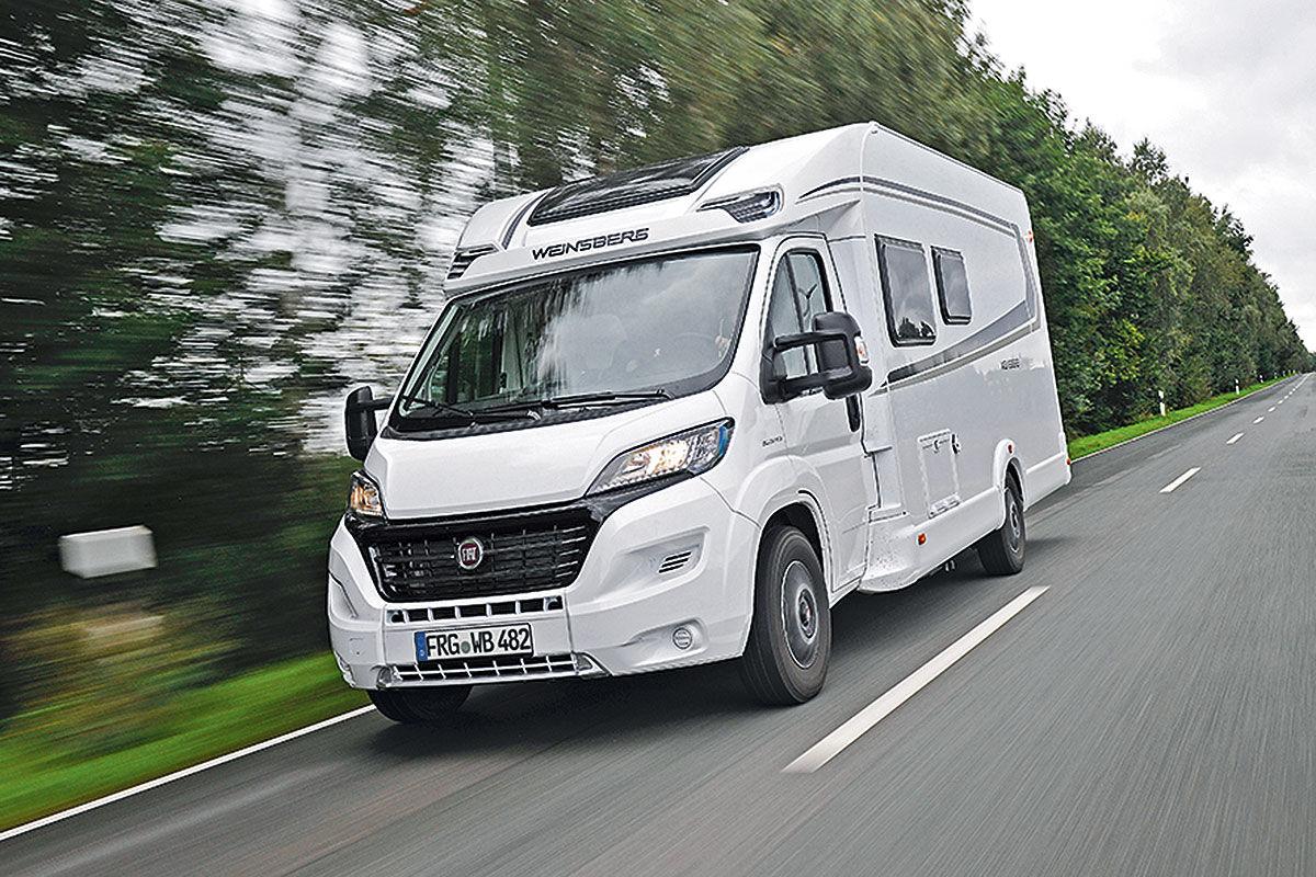 Wohnmobil-Test Weinsberg Carasuite 700 ME