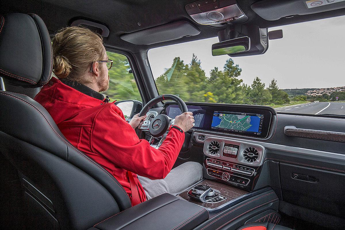 Mercedes-AMG G 63 (2018): Test