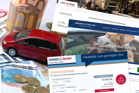 Autokredit online: Test