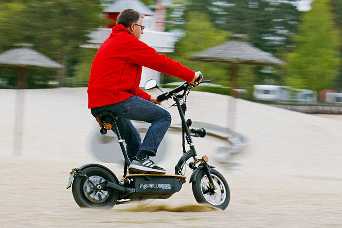 Fünf E-Scooter im Test
