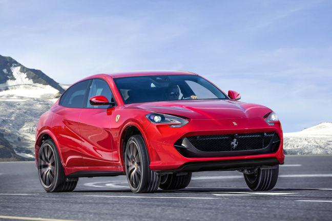 Video: Ferrari SUV (2019) - autobild.de