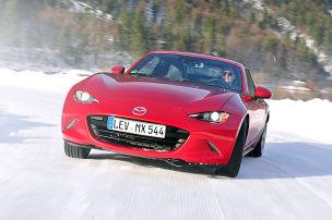 Aktion: Mazda Winter-Challenge