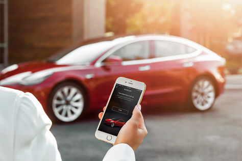 Tesla Model 3 und deutsche Autobauer