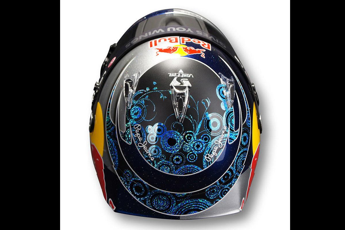 Formel 1: Die schönsten Helme von Vettel