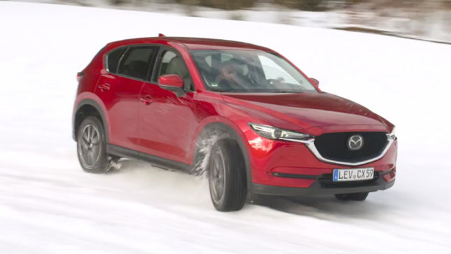 video: mazda winter challenge (2018) - autobild.de