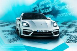 Porsche mit Blockchain