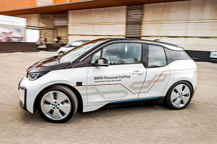 Autonomer BMW i3 (Level 5): MWC 2018