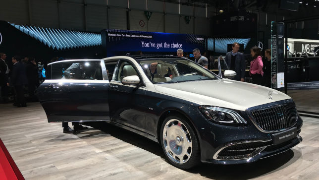 video: mercedes-maybach s-klasse (genf 2018) - autobild.de