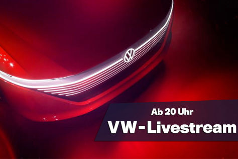 Autosalon Genf: VW Group Night im Live-Stream