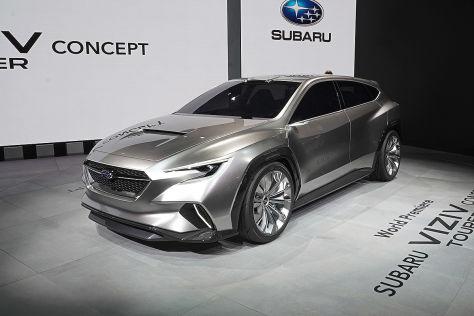 Subaru Viziv Tourer Concept (2018): Alle Infos