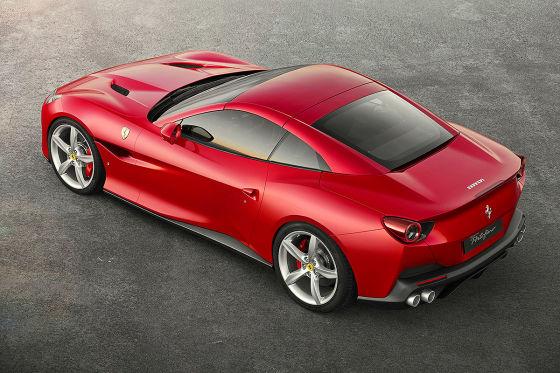 Erste Fahrt im neuen Einstiegs-Ferrari