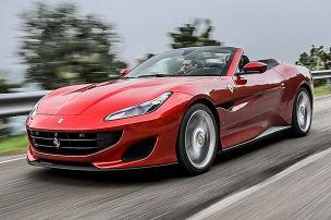 Erste Fahrt im Einstiegs-Ferrari