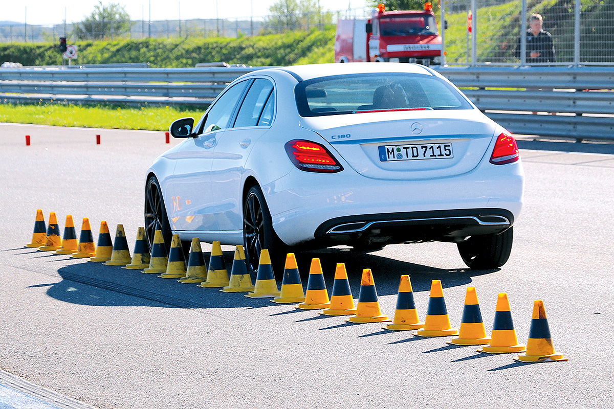 Sommerreifen-Test, Mercedes C-Klasse