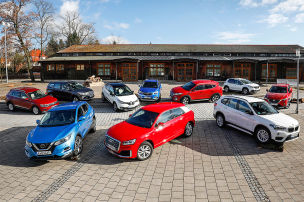 Die beliebtesten Kompakt-SUVs