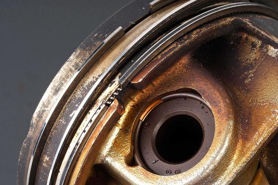 Öl saufende TFSI-Motoren - Kolbenring