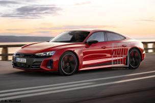 Audi e-tron GT als Langstrecken-Taycan