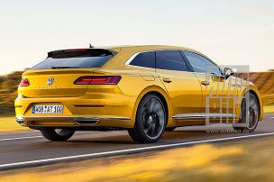 VW Shooting Brake kommt!