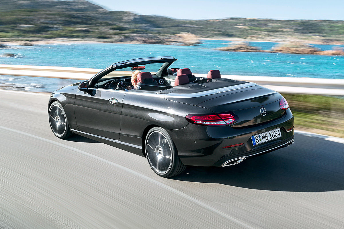 mercedes c klasse coup cabrio facelift 2018 alle infos. Black Bedroom Furniture Sets. Home Design Ideas