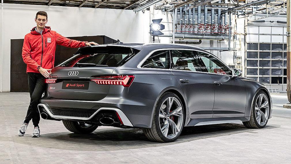 Audi Rs 6 Avant C8 2020 Test Daten Preis Innenraum V8