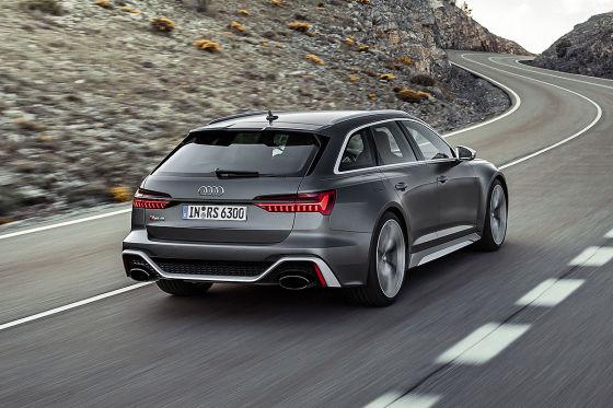 Mild-Hybrid-V8 für den neuen RS 6!