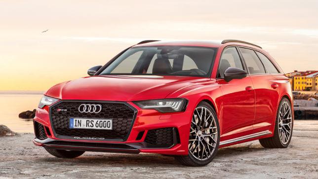 Audi RS Preis Motor Erlkönig Und Neue Infos Autobildde - Audi rs6 2018
