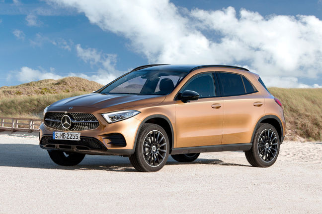 Prijzen Mercedes Benz Gla Klasse: Video: Mercedes GLA (2019)