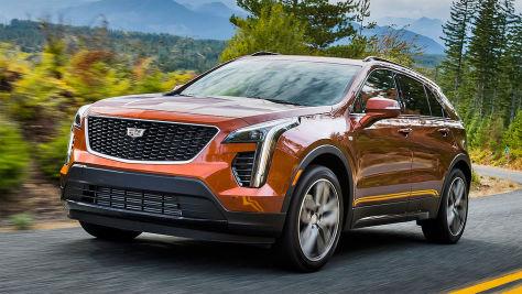 Cadillac XT4 (2018): Test