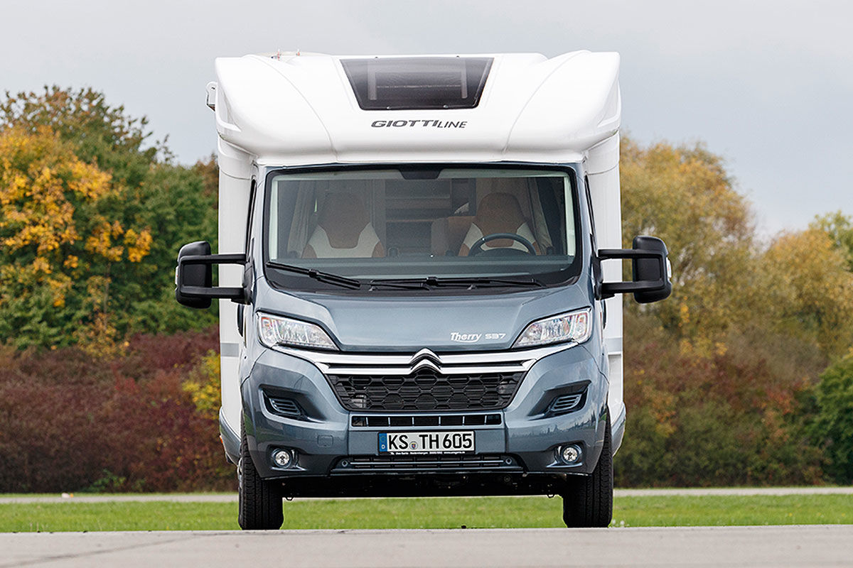 Wohnmobil-Test Giottiline Therry T37 S 25 Jahre Edition