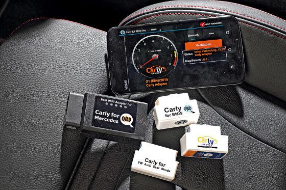 Service Auto-Diagnose per Handy