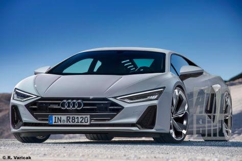 Coupe Vs Sedan >> Audi R8 Coupé (2022): Vorschau - autobild.de