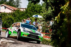 Rallye-EM: Erfolg in Italien