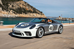 So f�hrt der Porsche 911 Speedster