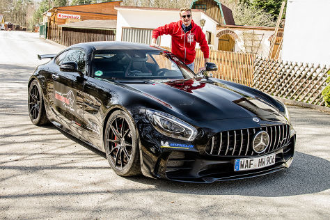 Mercedes-AMG GT R Edo Competition (2018): Test, PS, Preis ...