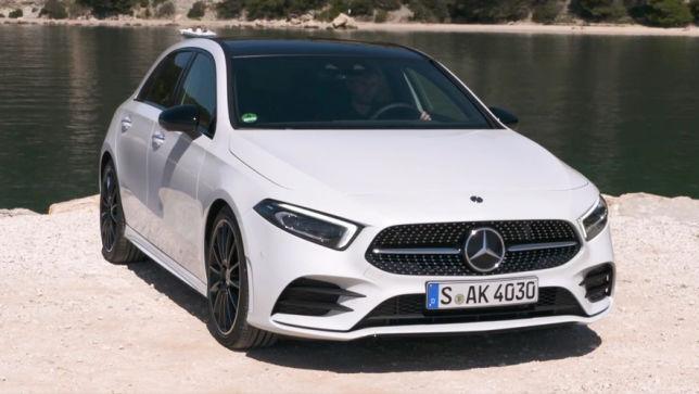 video: mercedes a-klasse (2018) - autobild.de