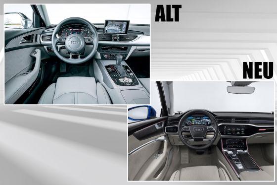 A6 Avant: Alt vs. neu!