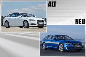 A6 Avant: Alt gegen Neu!