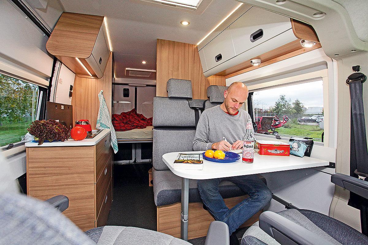 Sun Living, Bravia und XGO im Wohnmobil-Test