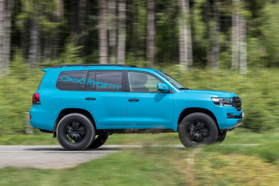 Toyota Land Cruiser V8 von Extrem: Test - autobild de