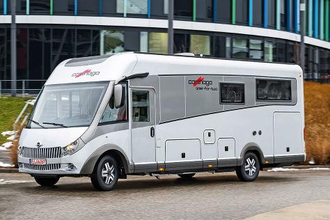 Carthago liner-for-two: Wohnmobil-Test - autobild.de