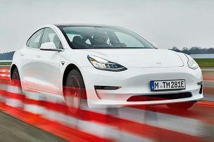 Model 3 im ersten Test!