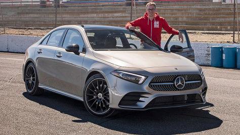 Mercedes A-Klasse Limousine (2018): Test