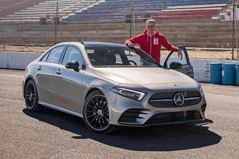 Mercedes A Klasse Limousine 2018 Marktstart Preise