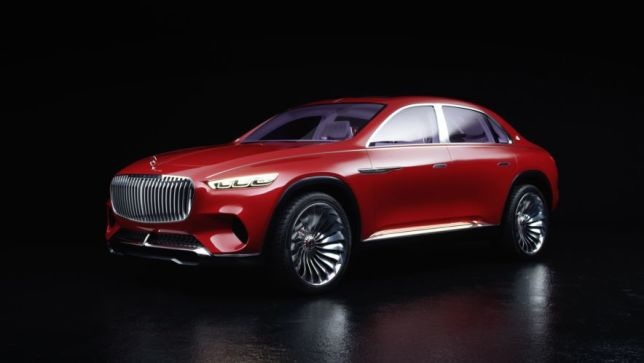 video: vision maybach ultimate luxury (auto china 2018) - autobild.de