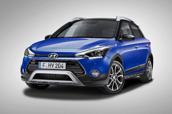 Hyundai i20 Active !! SPERRFRIST 25. April 2018   00:01 Uhr !!