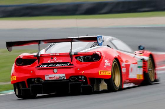 Der rote Renner des GT Masters